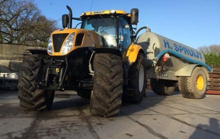 tractor waterwagen huren
