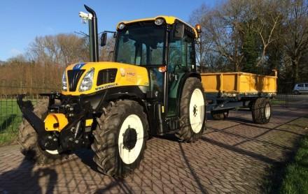 entreeding tractor kipper smalspoor tractor awd