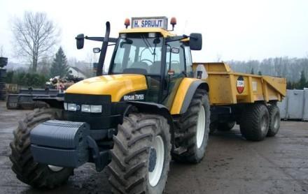 tractor kipper huren grondkar