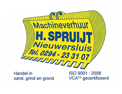 Machineverhuur H. Spruijt B.V.