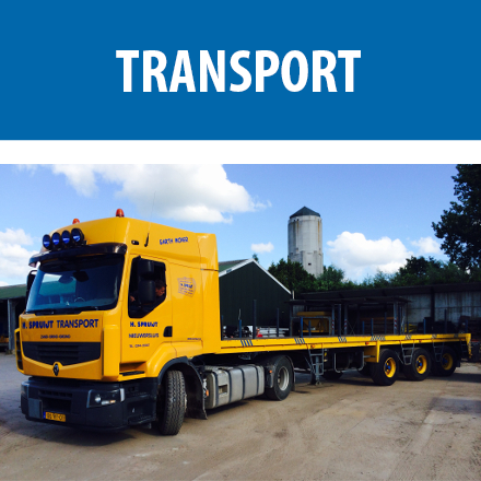 huur transport Transportmateriaal transportmaterieel verhuur