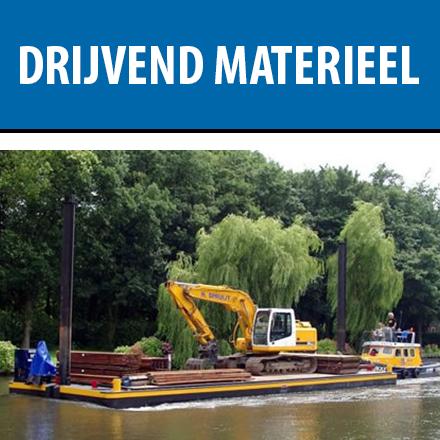 drijvend materieel pontpon pontons watervervoer