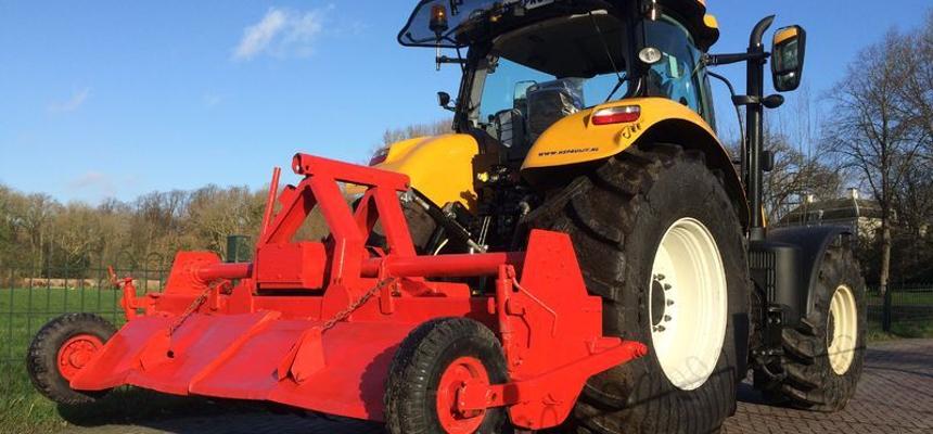 transport dieplader shovel tractor huren