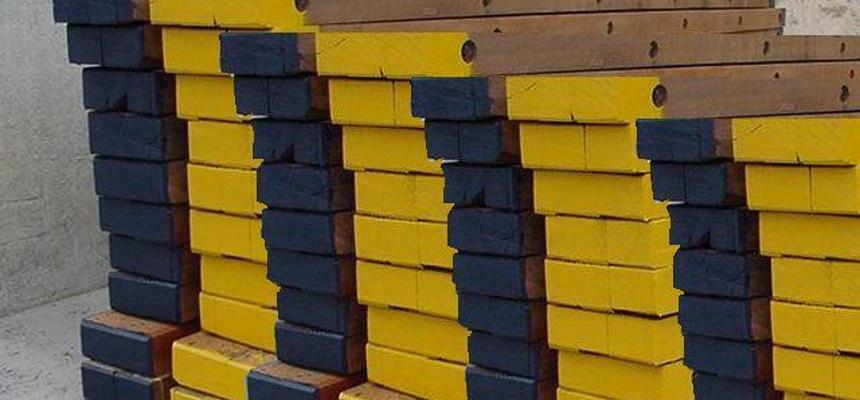 materieel wegwerkzaamheden hout