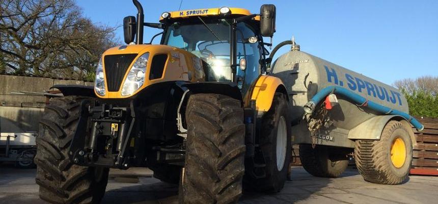 tractor knijperauto huren