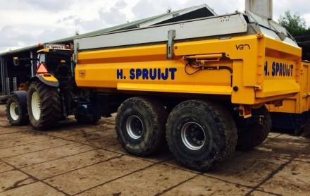 tractor kipper kiepwagen huren
