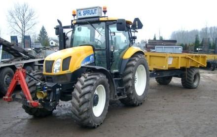 tractor kipper tracktor grondkar huren