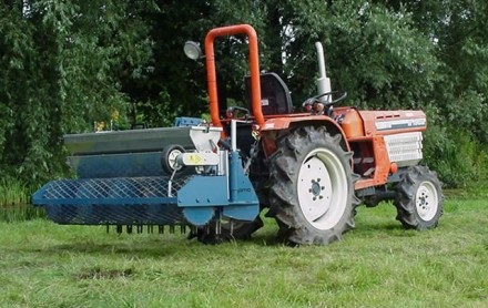 tractor rotorkopeg zaaimachine kubota