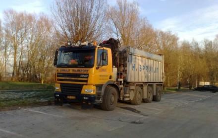 kippervrachtauto ginaf containerwagen