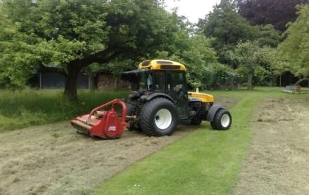 tractor klepelmaaier huren