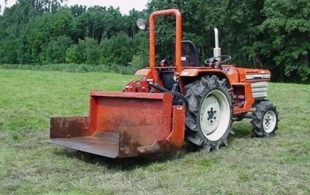 tractor kilver grondbak