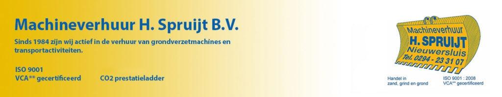 Machineverhuur H. Spruijt B.V.