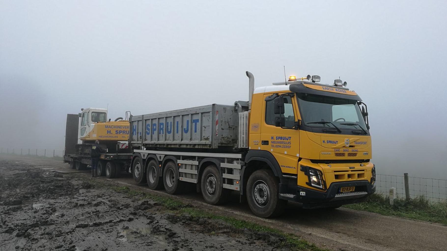 HSPRUIJT transport dieplader